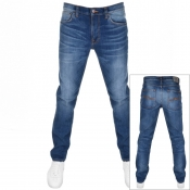 Product Image for Nudie Jeans Lean Dean Slim Tapered Jeans Lost Blue
